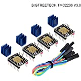BIQU TMC2208 V3.0ステッピングモータードライバーUARTモード3Dプリンター部品(4個)