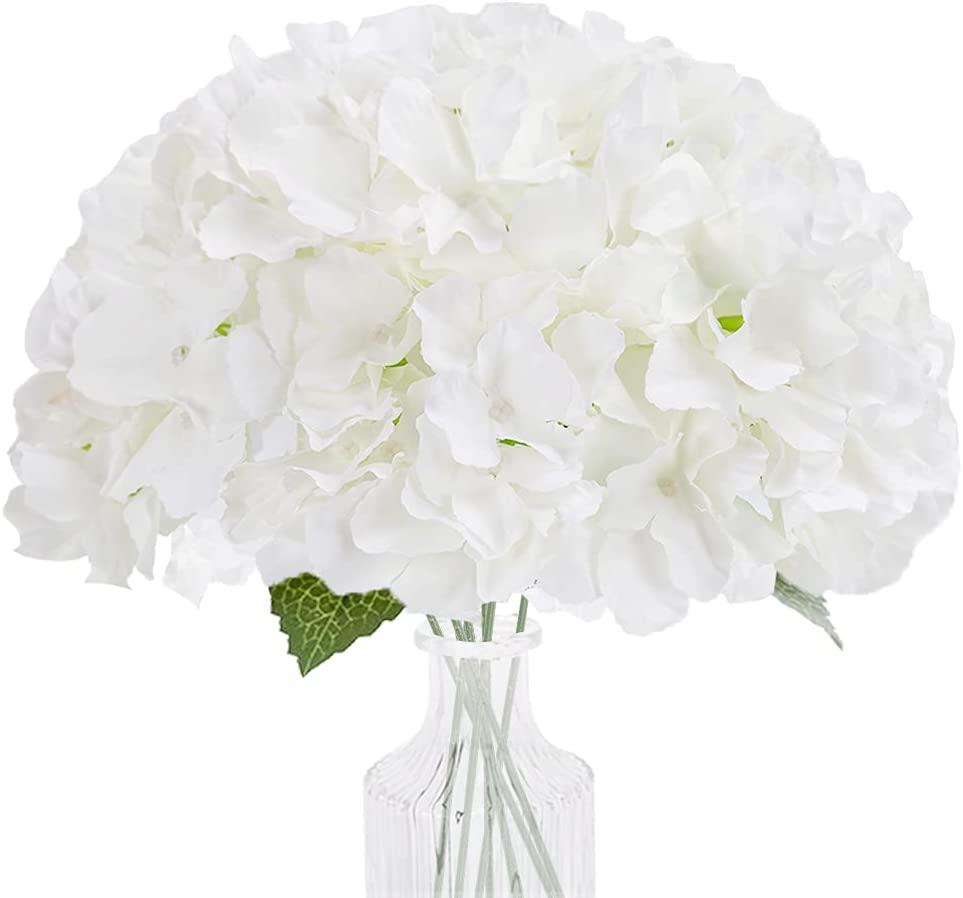 MACTING Hydragenea Artificial Super Special SALE held Flowers Hydrangea 10pcs with At the price Fake