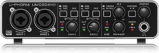 Behringer UMC204HD U-phoria - Interface de Audio, MIDI, USB