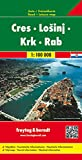 Cres/Losinj/Krk/Rab, nautical information (AUTO + FREIZEIT)