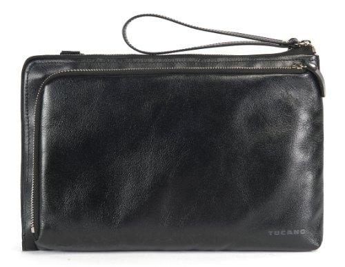 Tucano BEL11 Damen Notebook Tasche, Leder, 28 cm (11 Zoll) schwarz