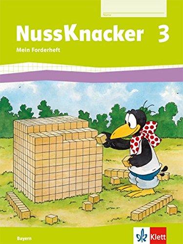 Nussknacker 3. Ausgabe Bayern: Arbeitsheft Fordern Klasse 3 (Nussknacker. Ausgabe für Bayern ab 2014)