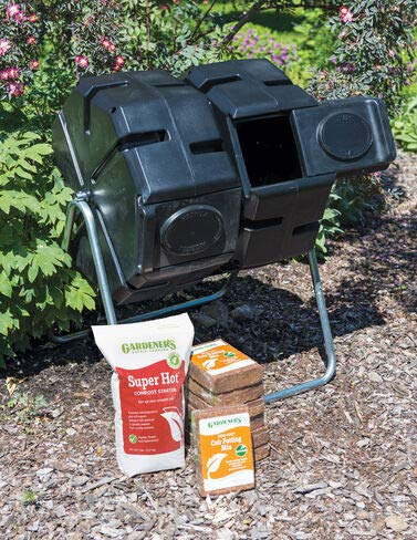 Learn More About Gardenders Supply Company Dual Batch Composter Success Kit