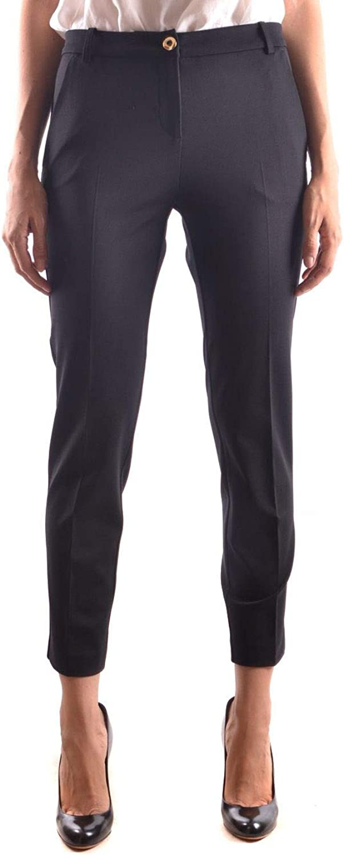 Pinko Women's BELLO44Z99 Black Viscose Pants