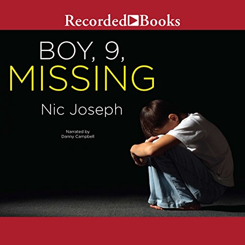 Boy, 9, Missing audiobook cover art