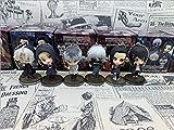 6Pcs/Set Anime Tokyo Ghoul Pendant Figure Toy Kaneki Ken Uta Juzo Suzuya / Rei Souta Washuu Furuta Q Version Action Figure Keychin Toys 5Cm