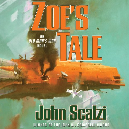 Zoe's Tale audiobook cover art