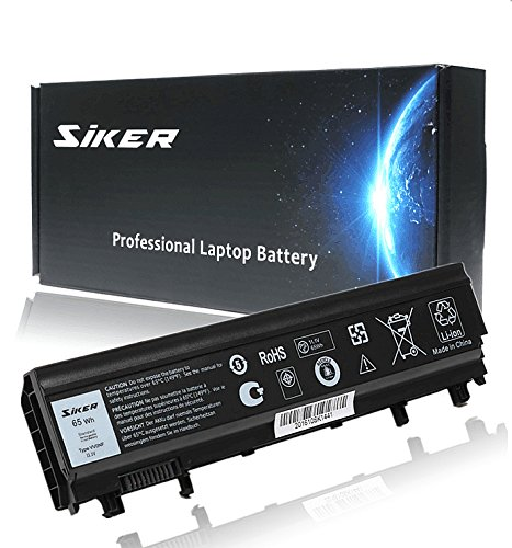 SIKER 11.1V 65WH Laptop Battery for Dell Latitude E5440 E5540 N5YH9 WGCW6 1N9C0 F49WX 0M7T5F-12 Months Warranty