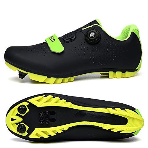 Miwaimao New 2021 MTB Cycling Shoes Men Outdoor Sport Bicycle Shoes Self-Locking Professional Racing Road Bike Shoes black-39