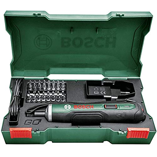 Bosch 3.6V 1.5Ah Li-Ion Battery-powered Cordless PushDrive Screwdriver Kit