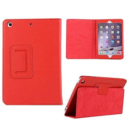 7.9 inch iPad Mini 2 Case,Hulorry Lightweight Folio Case Clear Smart Cover Ultra Slim Design Thin Protective Armor Cover for iPad Mini 1/Mini 2/Mini 3 7.9 inch Tablet