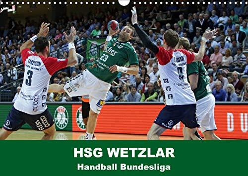 Handball Bundesliga - HSG Wetzlar (Wandkalender 2021 DIN A3 quer)