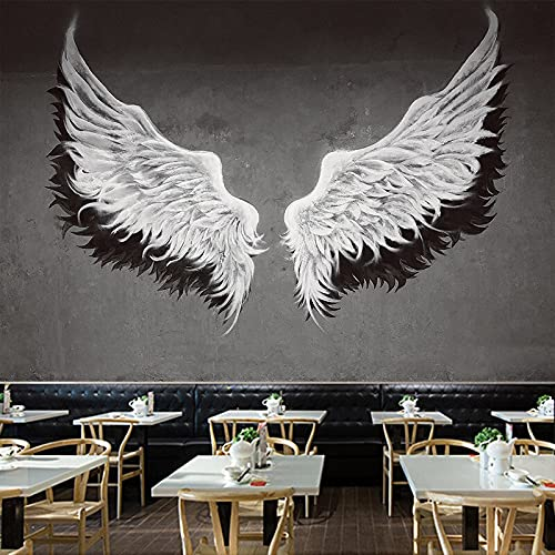 KHKJ Nórdico ala de ángel decoración de la Pared Tapiz de Fondo de Tela Junto a la Cama Dormitorio Tapiz de Pared decoración del hogar Tapiz A3 200x180cm