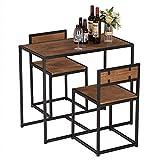 Modern Simple Elm Wood Simple Breakfast Table and Chair...