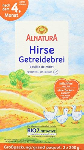 Alnatura Brei  Hirse, 4er Pack (4 x 400 g)
