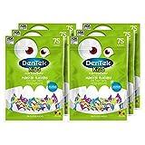 DenTek Kids Fun Flossers, Limited Edition Monster Flossers, 75 Count, 6 Pack (Packaging May Vary)