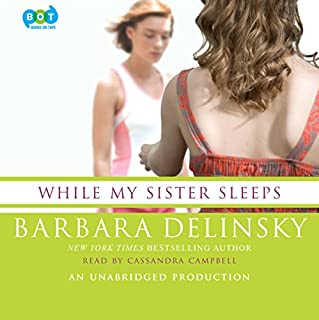 While My Sister Sleeps audiobook cover art