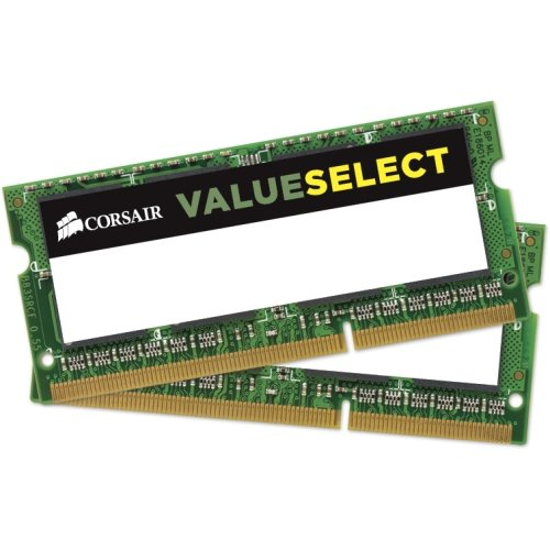 "Corsair 16Gb Ddr3l Sodimm Memory (Cmso16gx3m2c1600c11) . 16 Gb (2 X 8 Gb) . Ddr3 Sdram . 1600 Mhz Ddr3. 1600/Pc3. 12800 . 1.35 V . Unbuffered . 204. Pin . Sodimm ""Product Type: Memory/Ram Modules"""