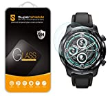 (2 Pack) Supershieldz for TicWatch (Pro 3 GPS) Tempered Glass Screen Protector, Anti Scratch, Bubble Free