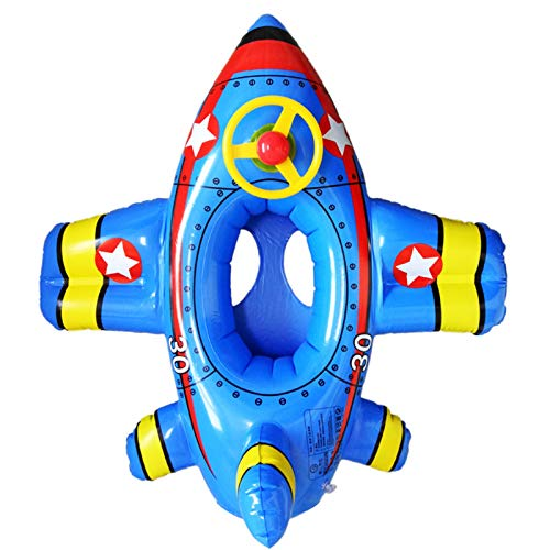 Alueeu Schwimmring für Kinder Aufblasbarer Bunter Schwimmreifen - Luftmatratze für Strandurlaub im trendigen Design