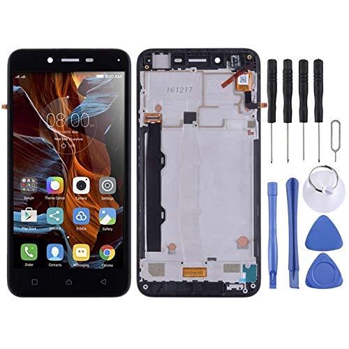LISUONG AYS Pantalla LCD y digitalizador Asamblea Completa con el capítulo for Lenovo Vibe K5 Plus A6020A46 A6020l36 A6020l37 (Negro) (Color : Black)