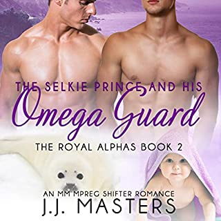 The Selkie Prince & His Omega Guard audiobook cover art