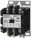 Siemens 42BF35AG Definite Purpose Contactor, 3-Pole, 30 Amp, 208-240V AC Coil Voltage