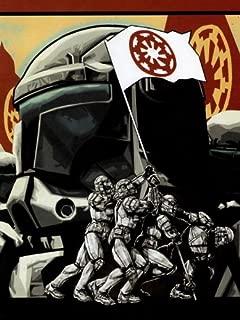 VerettiPosters SV0781 Clone Republic Commando Delta Squad Flag Star Wars Art 24x18 Print Poster