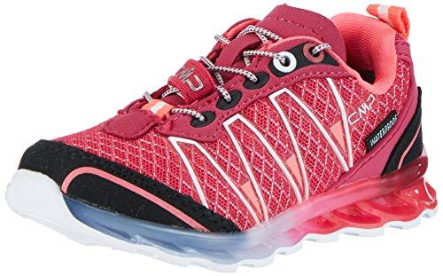 CMP Atlas, Zapatillas de Running para Asfalto Niñas, Rosa (Magenta), 28 EU