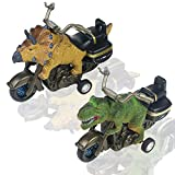 Symiu Dinosaurios de Juguete Motos para Niños Juguetes Niños Stegosaurus Tyrannosaurus Coches de Juguetes Regalos para Niños 3 4 5 6 Años