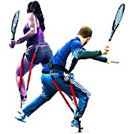 BIG LEAGUE EDGE Velopro Tennis Training Harness | Resistance Swing Trainer Adds 4-7MPH to Serve,...