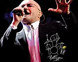 FRAME SMART Phil Collins | gedrucktes Unterschriftenfoto |