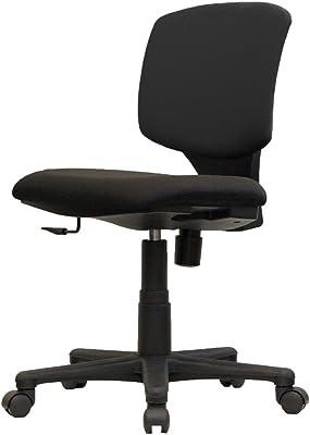 イトーキ オフィスチェア デスクチェア 回転チェア サリダ YL2 YL2-BL 肘なし ブラック