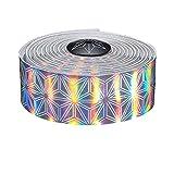 Supacaz Prizmatic Tape - Cinta de percha para bicicleta de carretera + tapones expendedores, aluminio, unisex, para adulto, Hologram, FR único fabricante: talla única, talla única