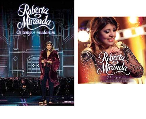CD Roberta Miranda 25 Anos + DVD CD Os Tempos Mudaram