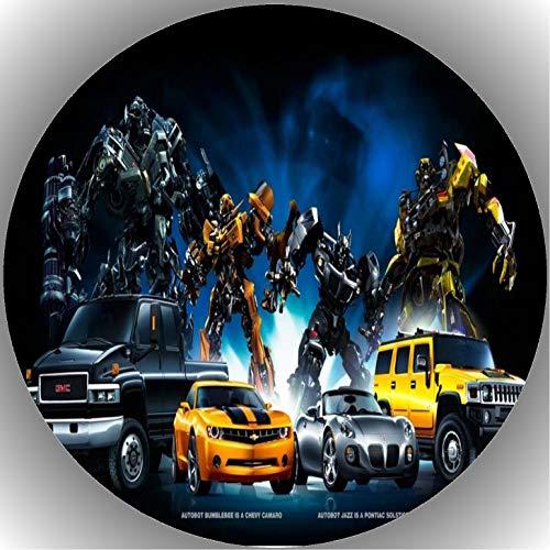Fondant Tortenaufleger Tortenbild Geburtstag Transformers AMA6