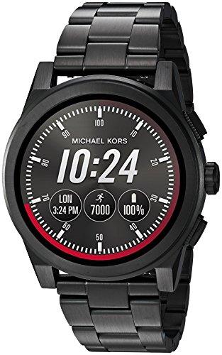 michael kors smartwatch Michael Kors Orologio Digitale Uomo con Cinturino in Acciaio Inox MKT5029