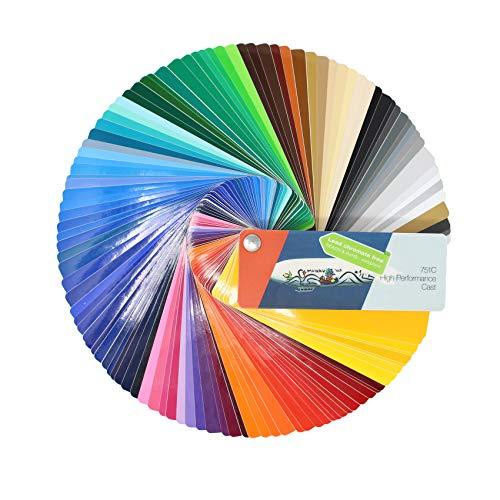 Farbfächer Plotterfolie Folie 970, 975, 951, 751 C, 651, 631/451 / 7510 Plott Folie Autofolie Werbung (Oracal 751C)