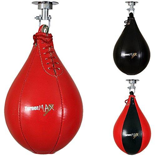 TurnerMAX Rexion–Pera de Boxeo Saco Bola & Giratorio Pera de Boxeo