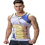 Cody Lundin Homme Débardeur Multicolore Maillot Gilet T-Shirt sans Manches Sport Tank Top (M, Multicolore B)