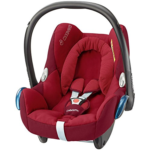 Maxi Cosi 61708990 Cabriofix Babyschale Gruppe 0+ (0-13 kg), mit Isofix, rot