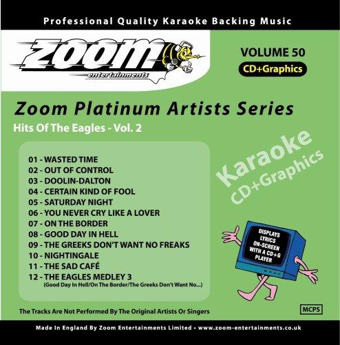 Zoom Karaoke CD+G - Platinum Artists 50: The Eagles 2