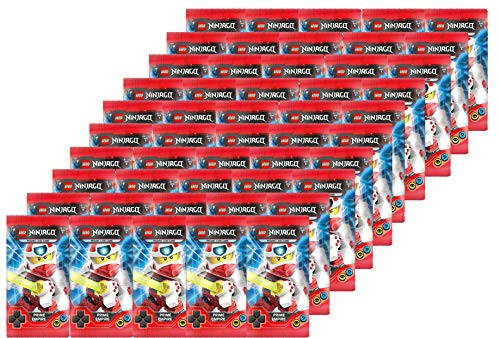 Blue Ocean Lego Ninjago - Serie 5 Trading Cards - 50 Booster ( 250 Cards ) Deutsch