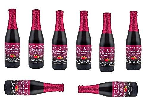 8 Flaschen Lindemans Framboise a 250ml 2,5% Vol. mit Himbeer inc. 0.48€ MEHRWEG Pfand