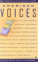 American Voices: Best Short Fiction by Contemporary Authors 0671783157 Book Cover