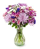 Delivery by Friday, May 14th Purple Extravagance by Arabella Bouquets