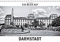 Ein Blick auf Darmstadt (Wandkalender 2022 DIN A4 quer): Ein ungewohnter Blick auf Darmstadt in harten Schwarz-Weiss-Bildern. (Monatskalender, 14 Seiten )