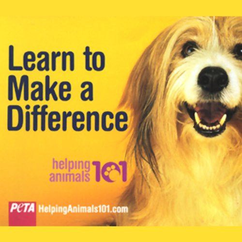 Helping Animals 101 audiobook cover art