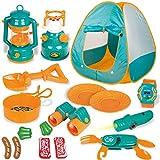 YUEHAPPY® Tienda De Campaña Infantil Conjunto para Niños Juegos para Cocina Accesorios Actividad Recreativa Interior Y Exterior Juguete