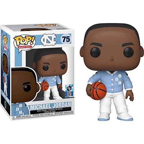 Lotoy Funko Pop Basketball : UNC - Michael Jordan (North Carolina Tar Heels Warm Ups) Vinyl 10inch for NBA Fans Model
